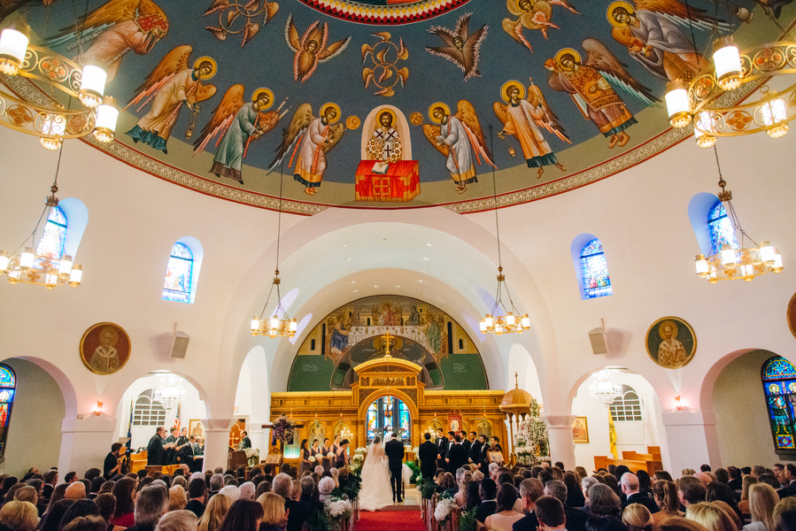 Kyra + Shawn's Purple Charleston wedding Greek Orthodox Chuch of the Holy Trinity