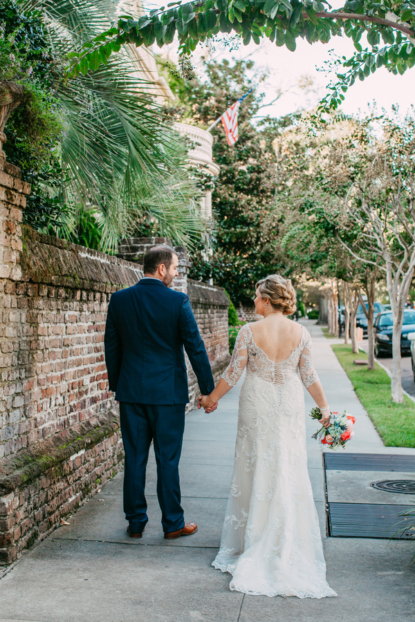 Charleston Wedding at White Point Gardens and Halls Chophouse by Riverland Studios