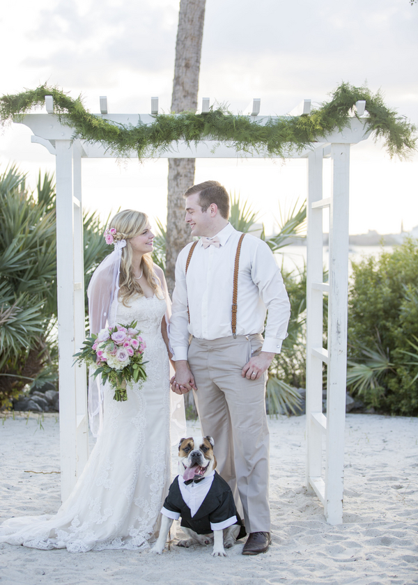Charleston Harbor Resort & Marina Wedding by Ava Moore Photography