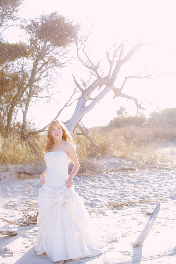 Charleston Bridals on Folly Beach, SC by Taylor Rae Photography