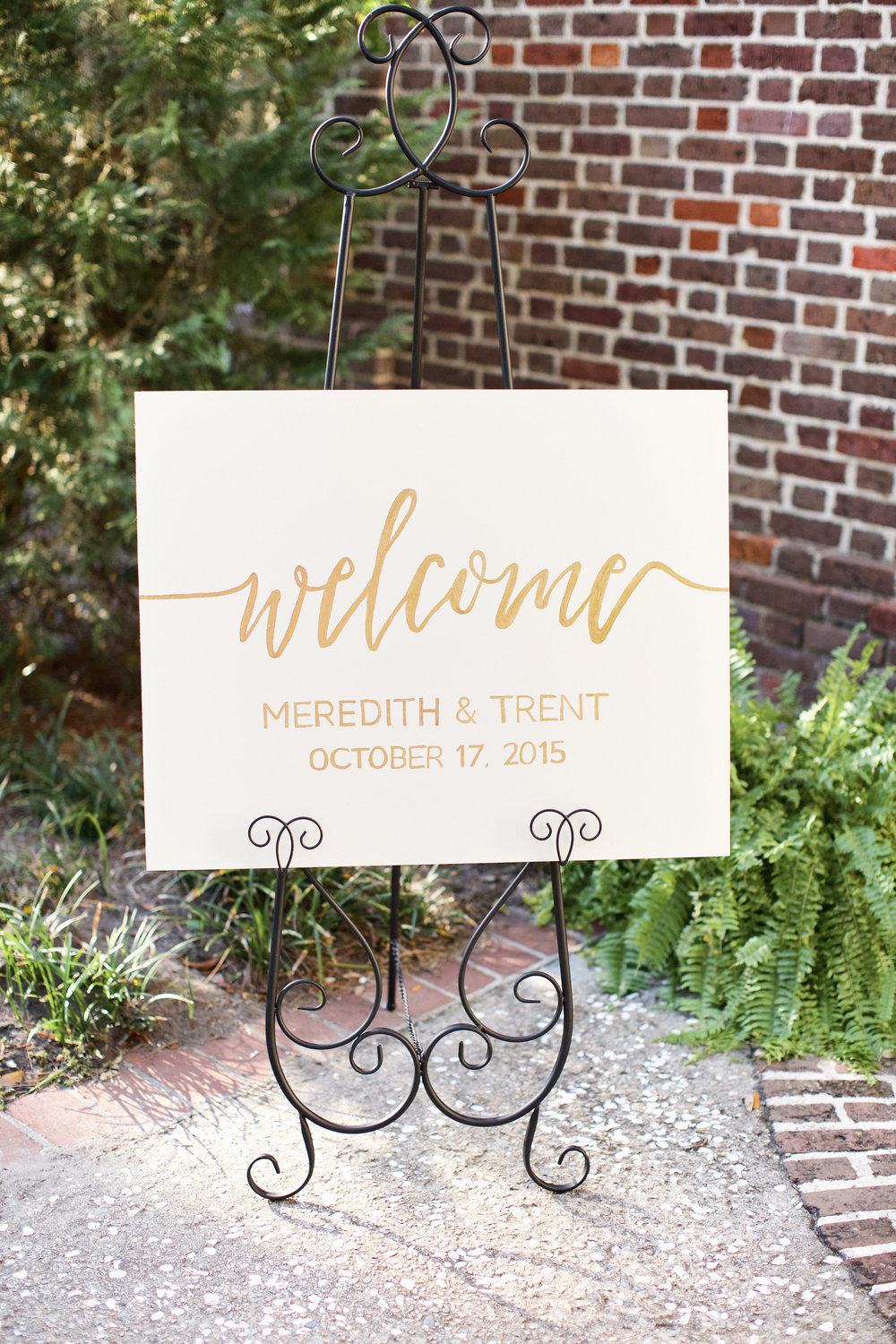 Meredith + Trent's Whitfield Chapel ceremony and Bethesda Academy wedding by Happy Everything Co. and Winey Blonde Events Co.