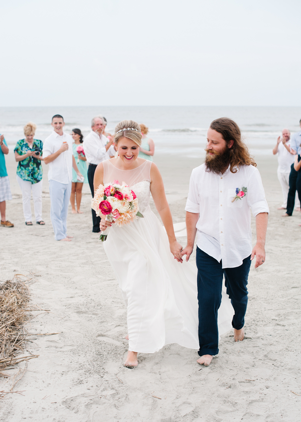Charleston Destination Beach Wedding by Britt Croft Photography
