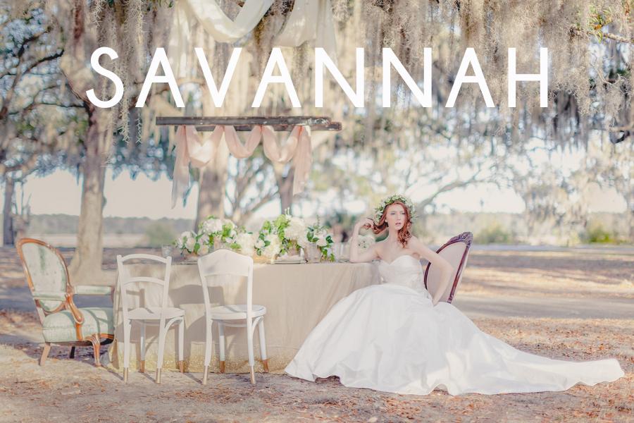 Savannah Wedding Vendors - Hilton Head, Bluffton Beaufort