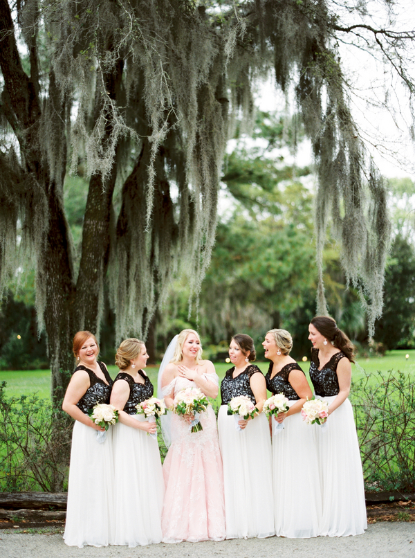 Pink Magnolia Plantation Wedding by Charleston, SC vendors Posh Petals & Pearls, Duvall Events, JoPhoto