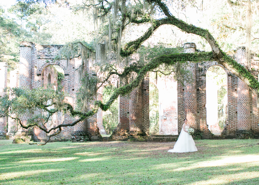 Old Sheldon Church Ruins by Chloe Giancola Photography