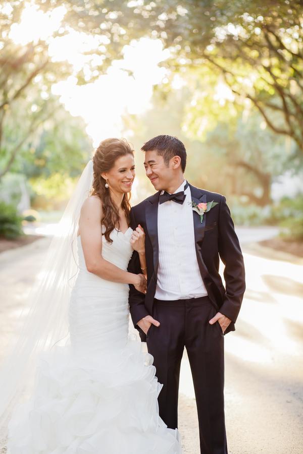 Erin + Ronaldo's DeBordieu Club wedding in Georgetown, SC by Myrtle Beach vendors - Carolina Charm, Riverland Studios and Pawleys Island Bakery