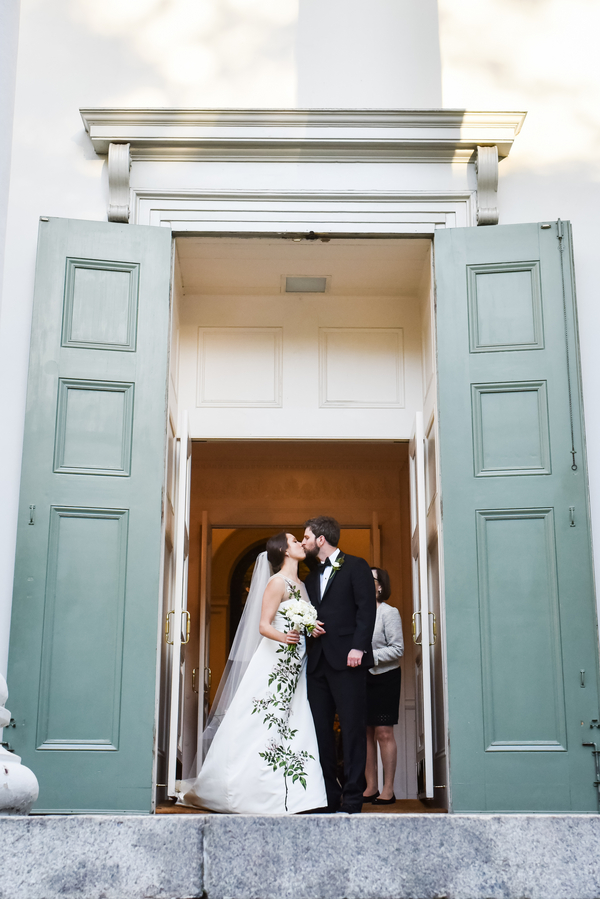 Christ Church Ceremony and Oglethorpe Club wedding in Savannah, Georgia by Donna Von Bruening and Anne Bone Events