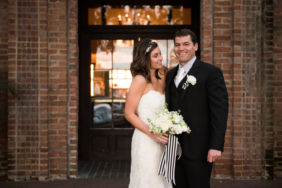 Elizabeth + Michael's Historic Rice Mill Building wedding by Charleston, Sc vendors Reese Moore and Tiger Lily Weddings