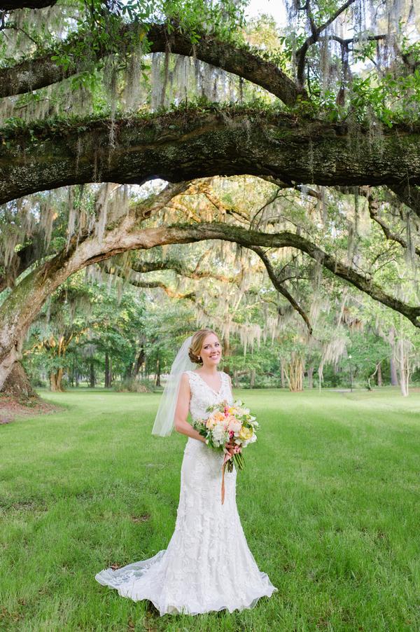 Chris + Holly's Magnolia Plantation and Gardens wedding by Charleston SC vendors Priscilla Thomas Photography and Cruz Coordination