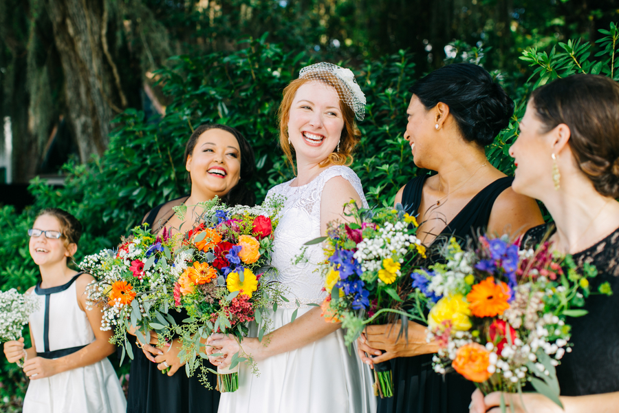 Tessa + Doug's Magnolia Plantation and Gardens wedding in Charleston, SC by Riverland Studios and Wildflowers Inc.