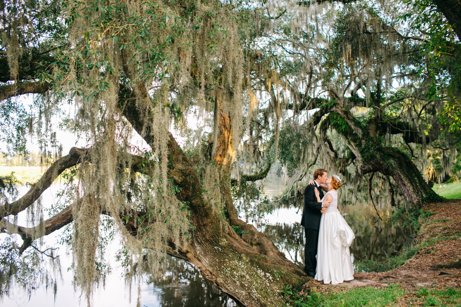 Charleston, SC wedding at Magnolia Plantation and Gardens by Riverland Studios and Wildflowers Inc.