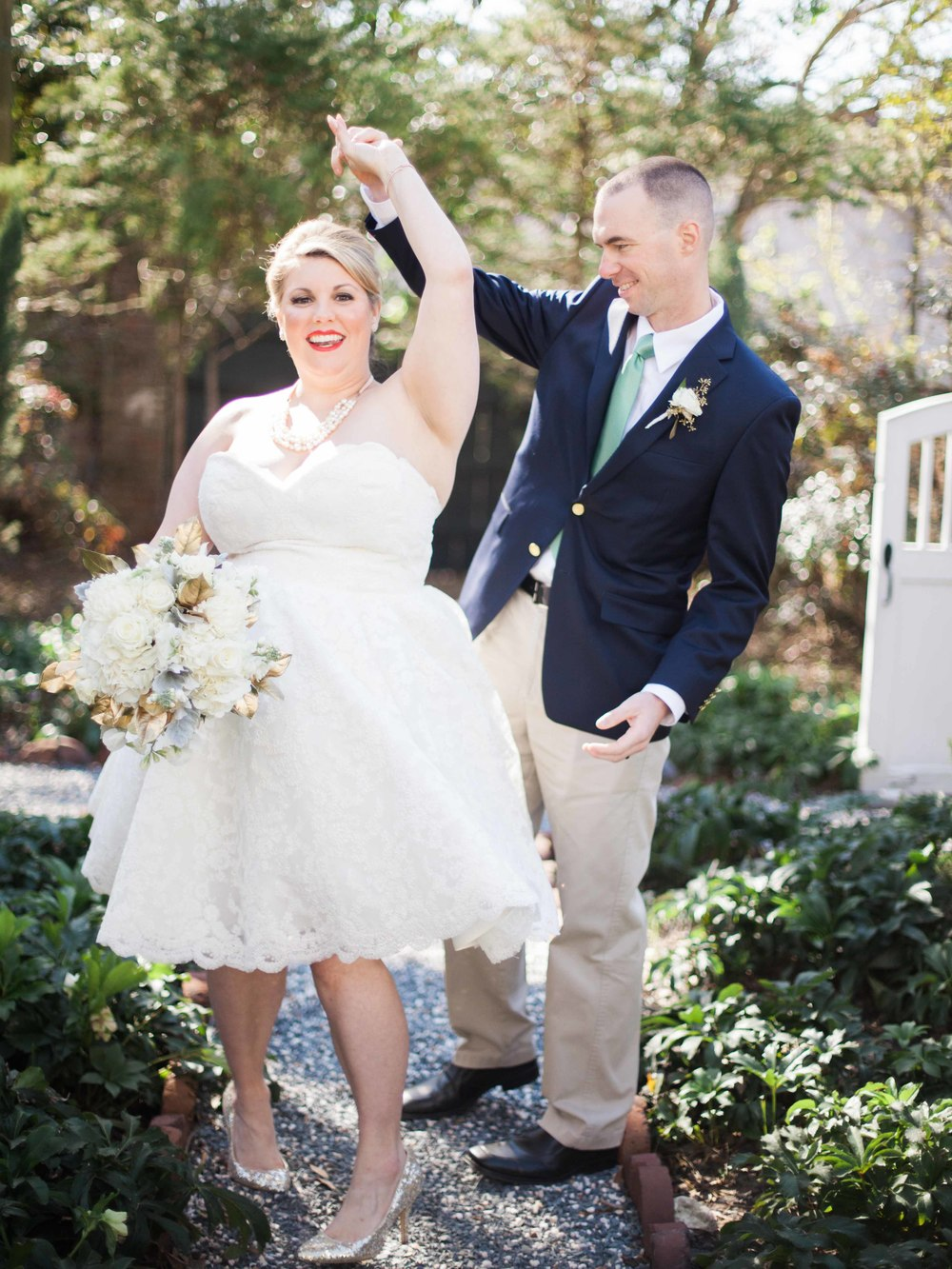Coastal Lowcountry Wedding Inspiration at Burgwin Wright House by Wynona Benson Photography