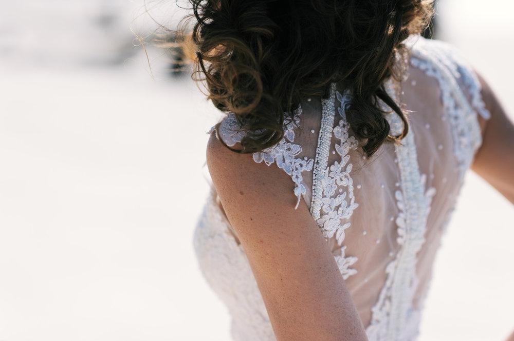 Coastal Georgia wedding on Jekyll Island's Driftwood Beach