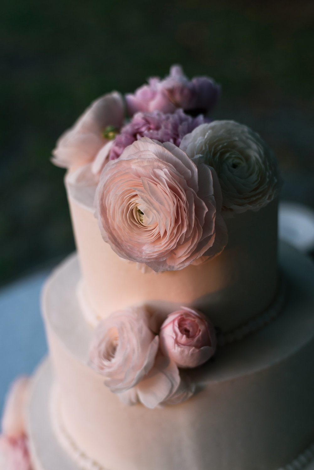 Jekyll Island wedding cake by Stratton Hall