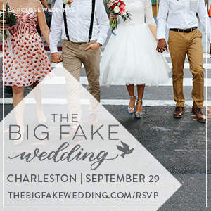 The Big Fake Wedding Charleston - The Gadsden House