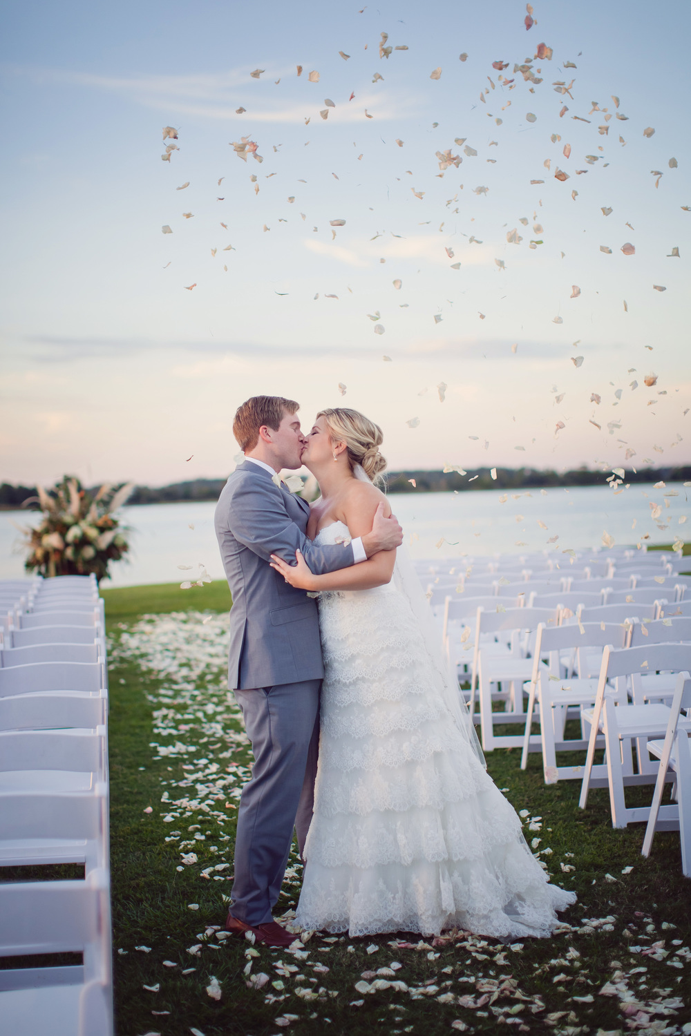 Hannah + Andy's Island House wedding by Lowcountry vendor Rebecca Keeling Photography