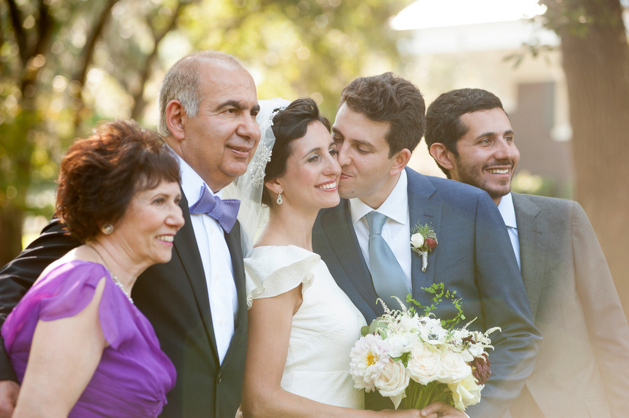Family picture at Charleston wedding on Kiawah Island by Captured by Kate Photography