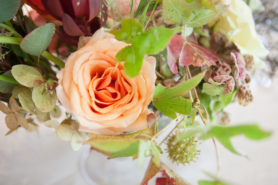 Fall Flowers at Kiawah Island, SC wedding in October by Charleston Stems