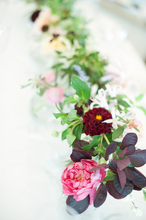 Fall centerpieces by Charleston Stems at Kiawah Island wedding