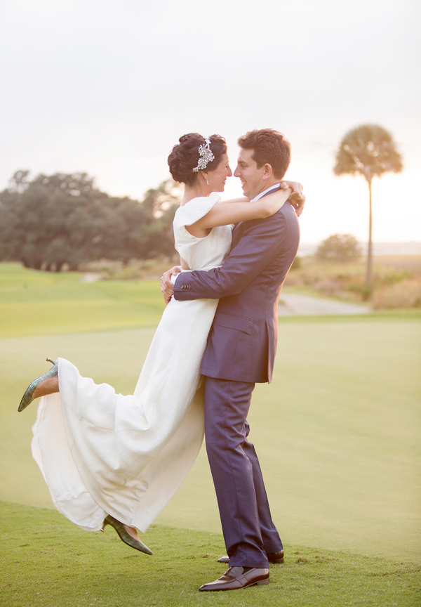Alex + Mallory's River Course wedding on Kiawah Island, South Carolina by Captured by Kate Photography