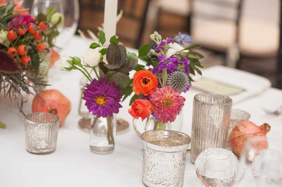 Centerpieces by Charleston Stems at The River Course