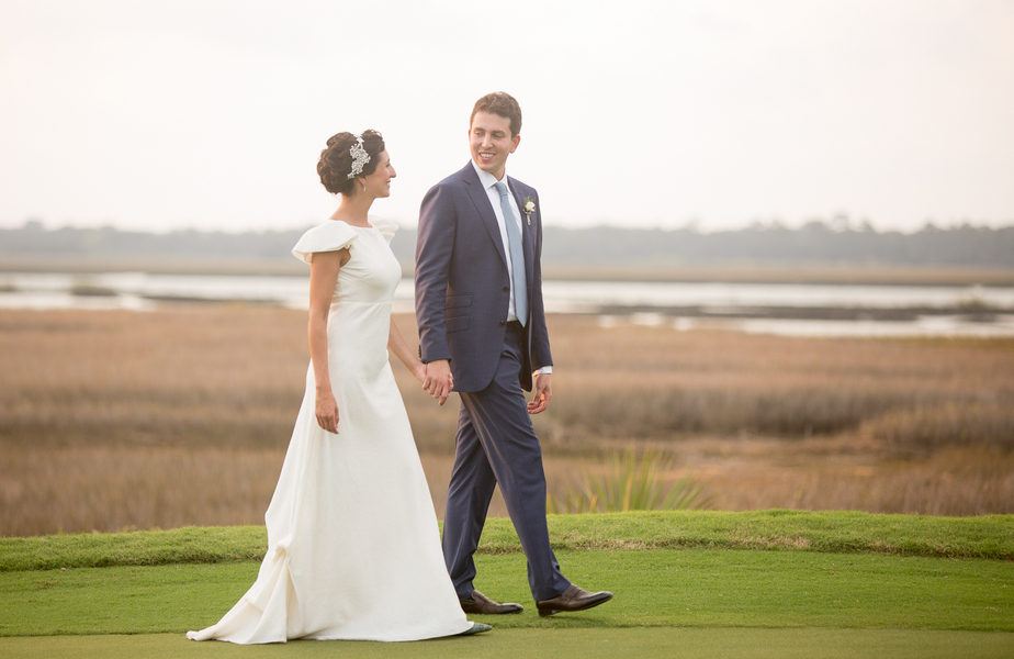 Alex + Michelle's Lowcountry wedding on Kiawah Island by Captured by Kate Photography