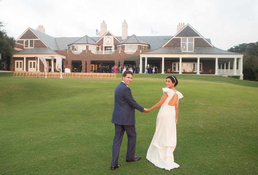 Michelle + Alex's River Course wedding on Kiawah Island, SC