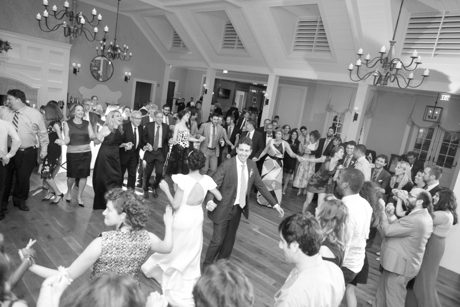 Charleston wedding reception dancing at Kiawah Island with Atlanta Party Band