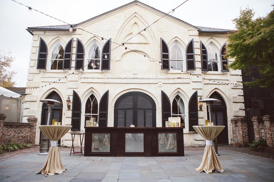 William Aiken House wedding designed by Boutique Planning