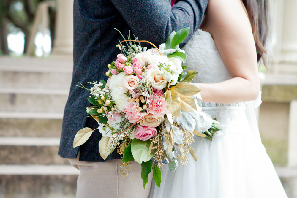 Charleston wedding bouquet by Lush Floral and Event Stylist