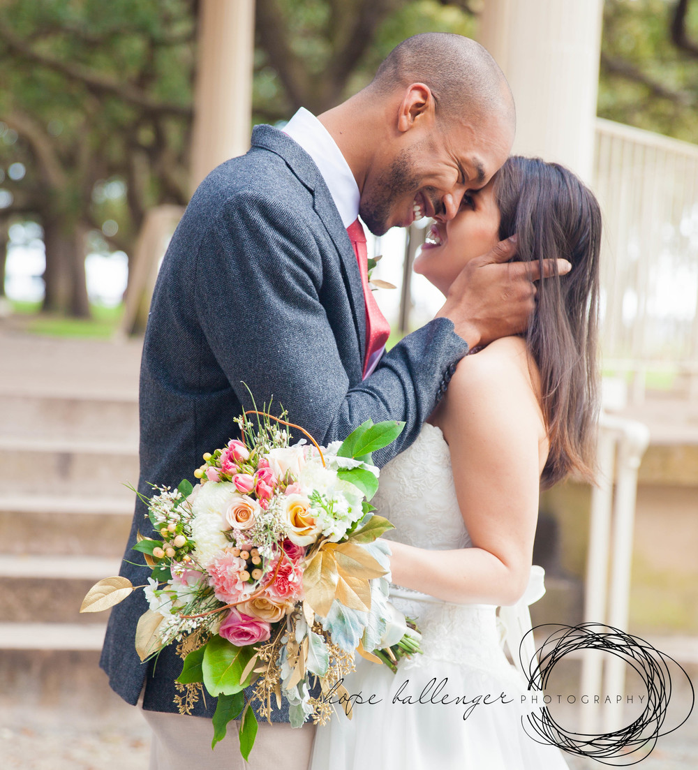Charleston, SC wedding elopement by Hope Ballenger Photography