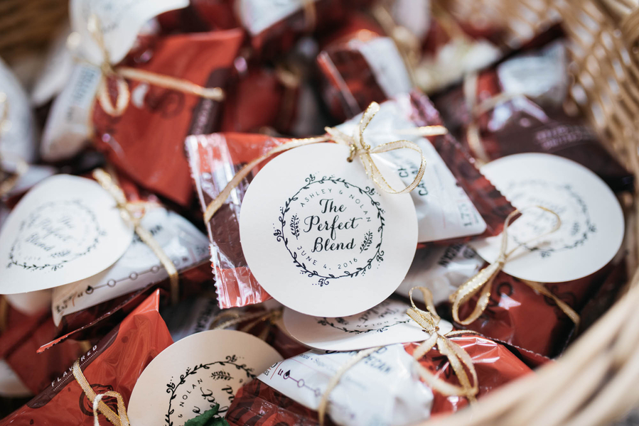 Charleston wedding favors by Julia Madden Sears Photography