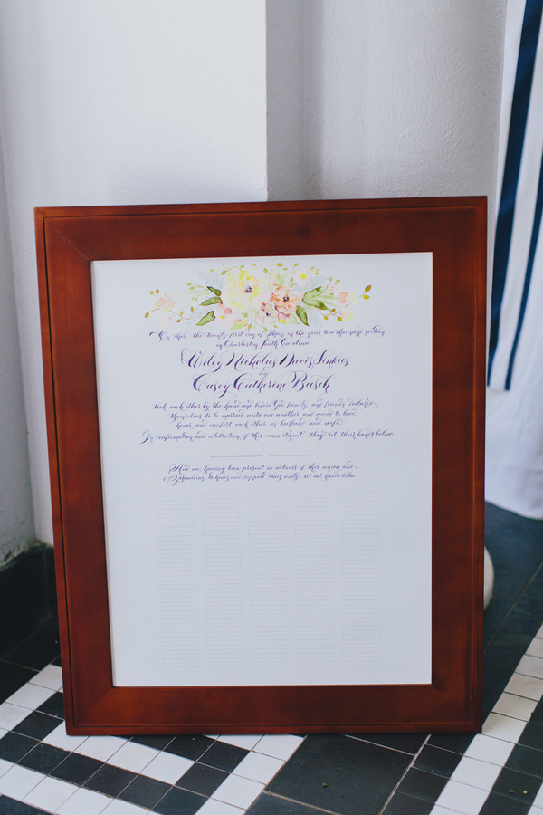 Charleston wedding on Lowndes Grove Plantation on A Lowcountry Wedding
