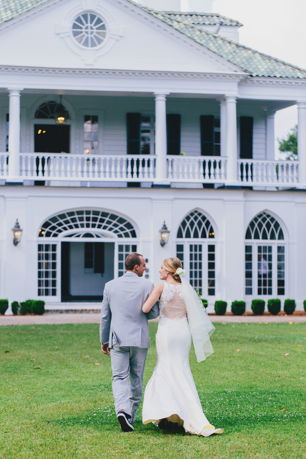 Casey + Wiley's Charleston wedding ceremony at Lowndes Grove Plantation by Hyer Images
