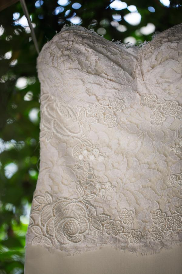 Beaufort, SC wedding dress by Grace Hill Photography