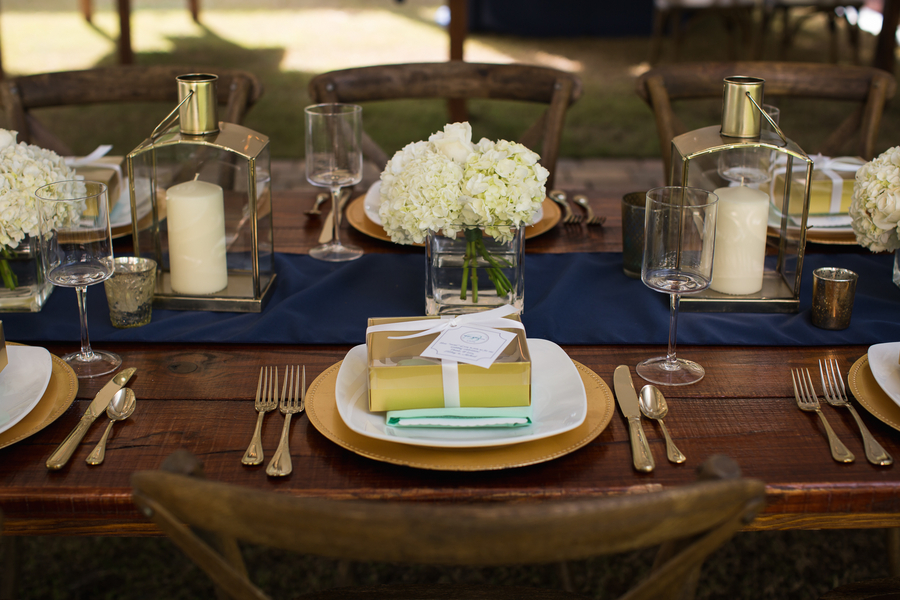 Navy Lowcountry wedding at The Beaufort Inn