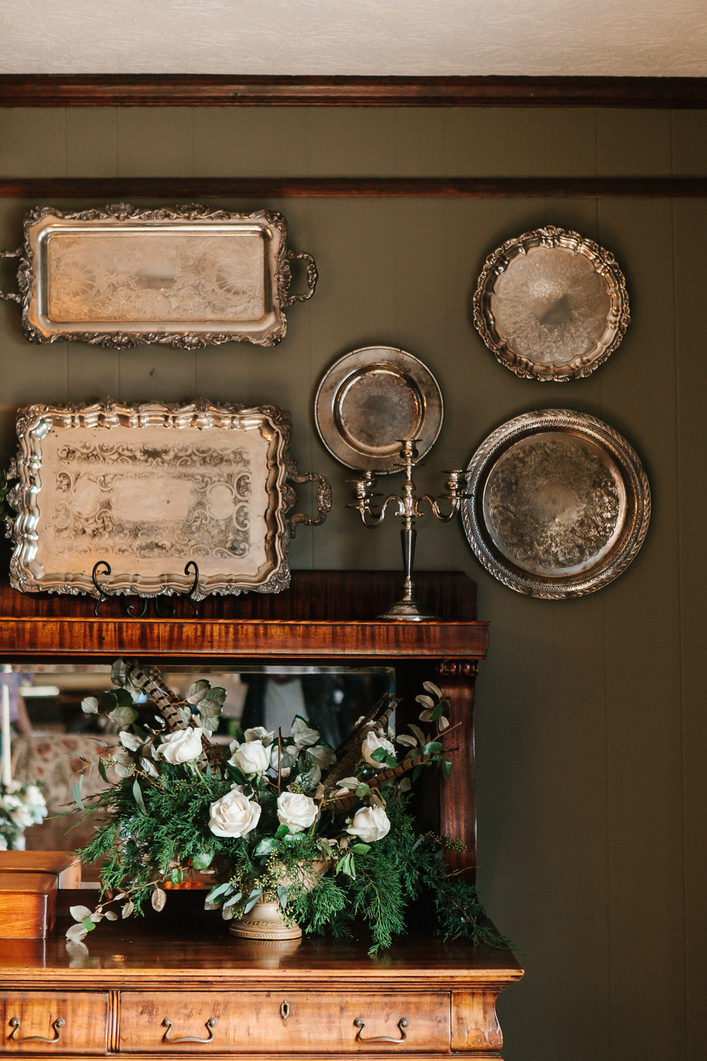 Rustic winter wedding in Stillmore, GA by Mark Williams Studio