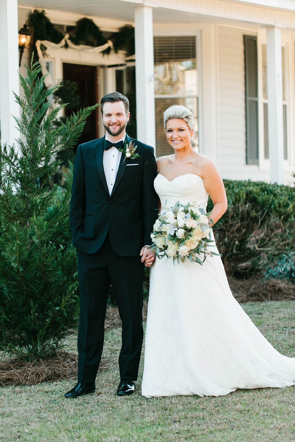 Emily + Sam's Winter Georgia wedding in Stillmore, GA by Mark Williams Studio
