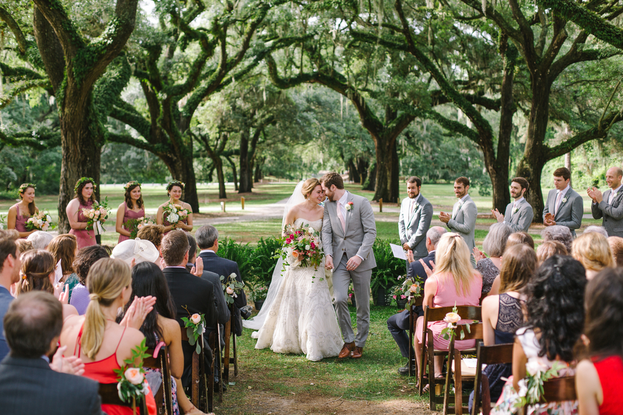 Romantic Lowcountry wedding at McLeod Plantation by JoPhoto