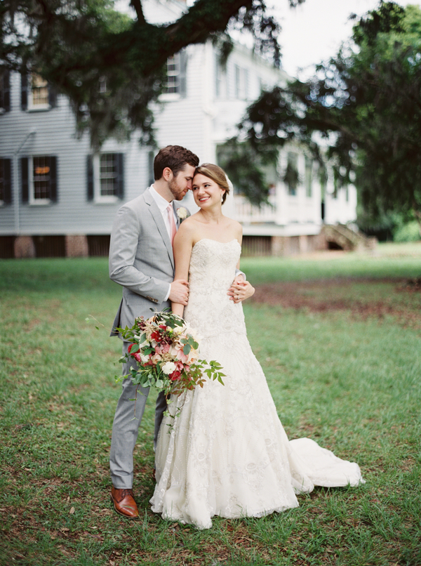 Ellen + Dylan's McLeod Plantation wedding in Charleston, SC