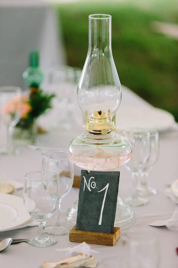 Oil gas lamp wedding decor by Confetti of Charleston