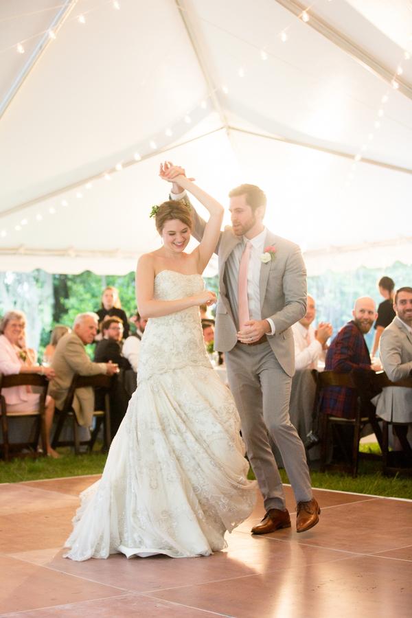 First dance at Charleston wedding by JoPhoto