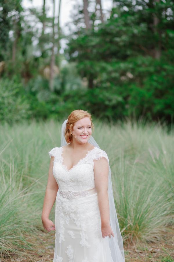 Emily Hamlin Van Allen's Kiawah Island wedding by Riverland Studios