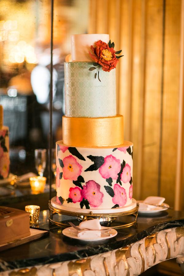 Savannah wedding cake by A Squard Bake Shop