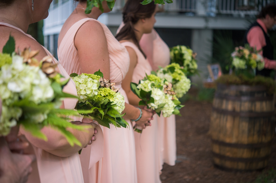Creek Club at I'On outdoor Summer wedding ceremony by Ooh! Events
