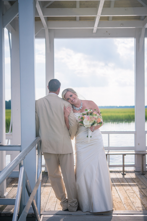 CHARLESTON WEDDINGS - Erin + Wesley's Summer wedding at Creek Club at I'On by Molly Joseph Photography