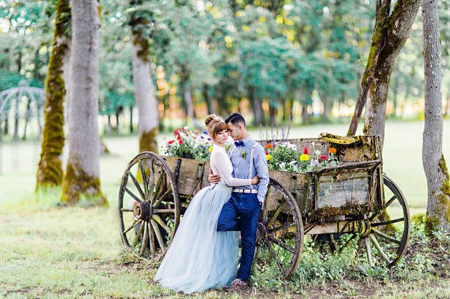Bohemian Inspired Wedding Elopement by Corina Silva