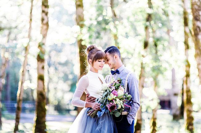 Romantic Farm elopement with rustic details by Myrtle Beach vendor Corina Silva