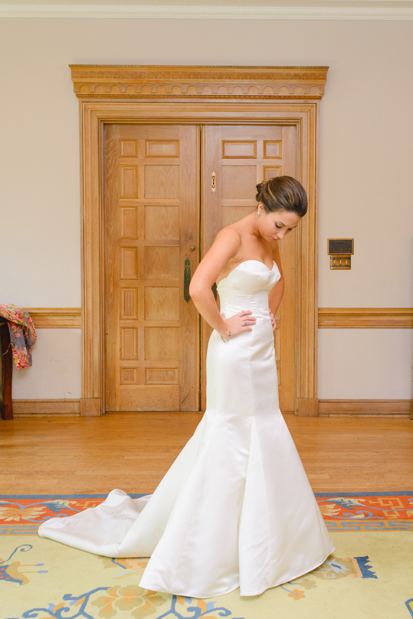 Wtoo by Watters gown at Lowcountry wedding in Charleston, SC