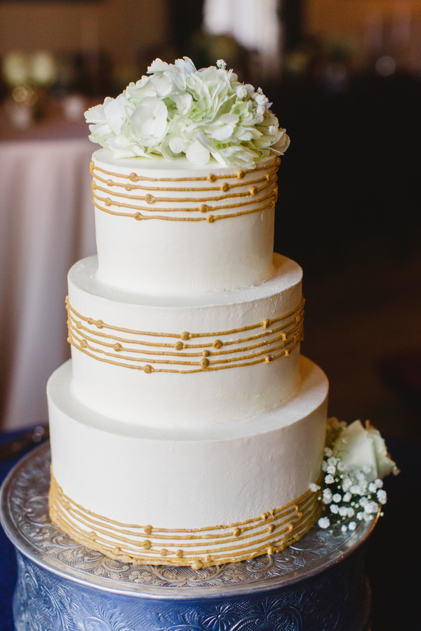 Charleston wedding cake by Wildflour Pastry
